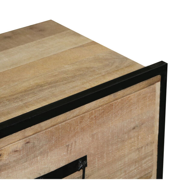 Outbound Natural and Black Nightstand, image 4