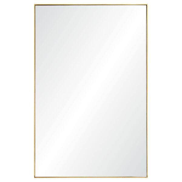 Florence Gold Rectangular Mirror, image 1