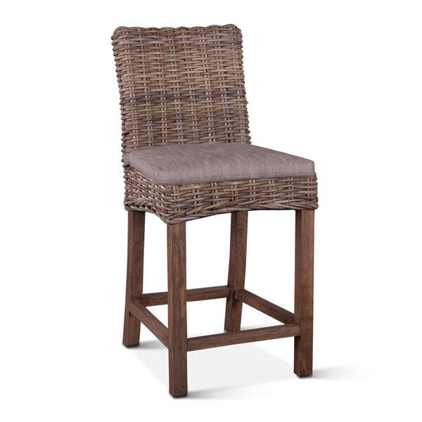 Bali Brown Counter Chair, image 2