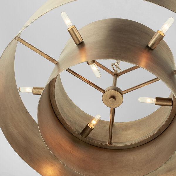 Jude Mystic Luster Nine-Light Pendant, image 5