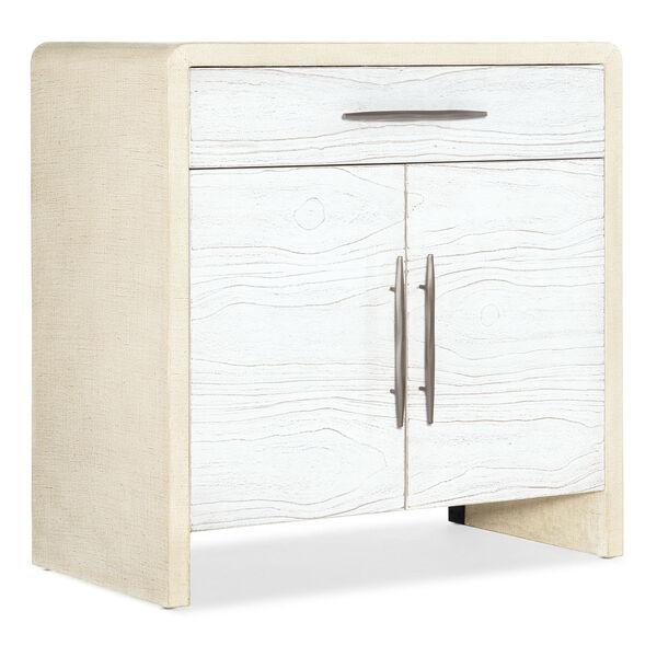 Cascade White Accent Cabinet, image 1
