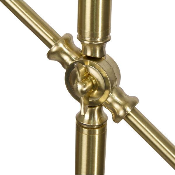 Archer Satin Brass LED Floor Lamp, image 6