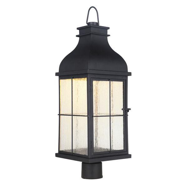 Vincent Midnight LED Outdoor Post Mount, image 2