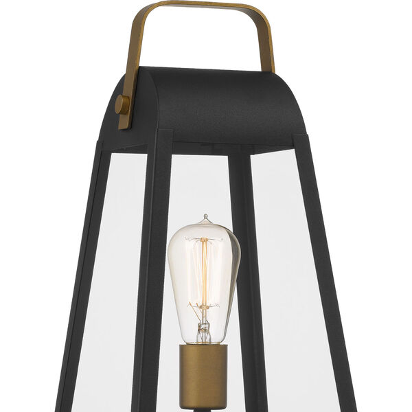 O-Leary Earth Black One-Light Outdoor Post Mount, image 6