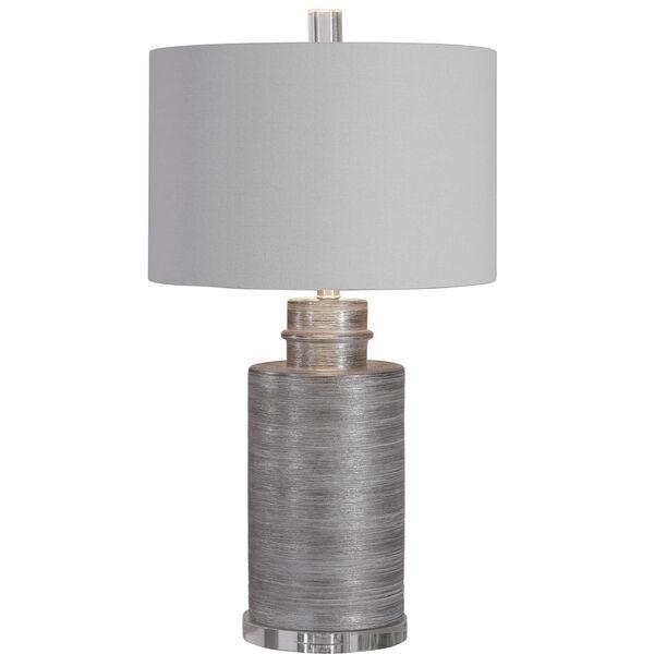 Anitra Metallic Silver 1-Light Table Lamp, image 1