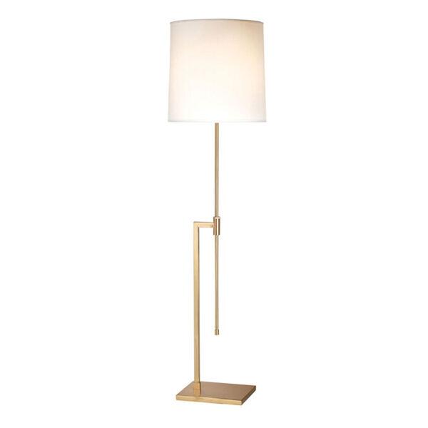 Palo Satin Brass Adjustable Floor Lamp, image 1