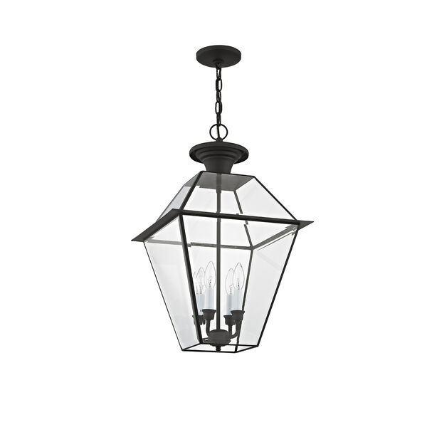 Westover Black Four-Light Outdoor Chain Hang, image 3