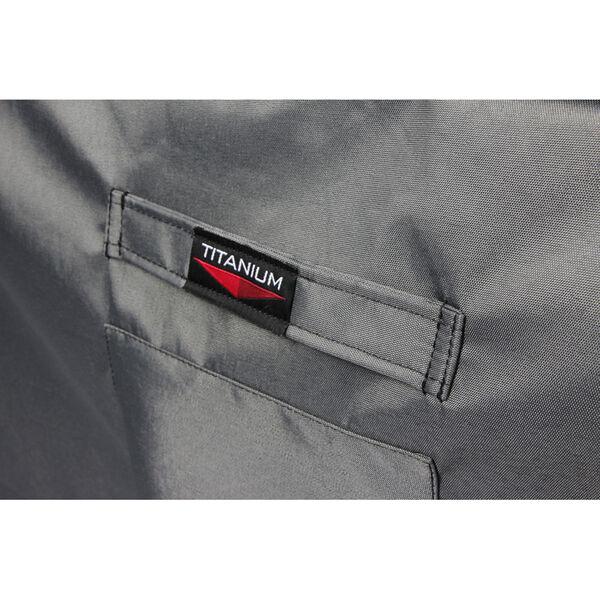 Titanium Shield Outdoor Rectangular Fire Table Cover, image 2