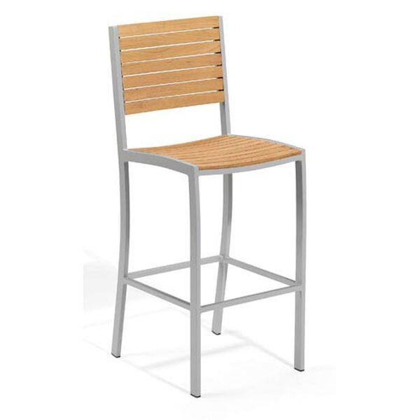 Travira Natural Teak Bar Chair, image 1