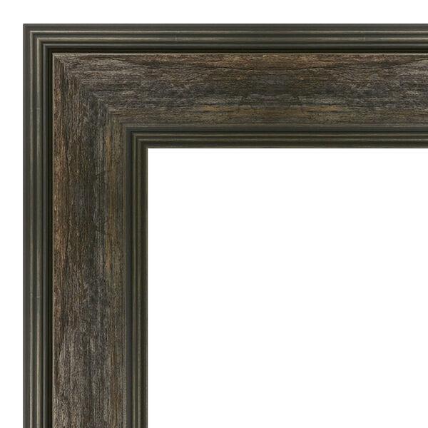 Rail Brown 24W X 30H-Inch Bathroom Vanity Wall Mirror, image 2