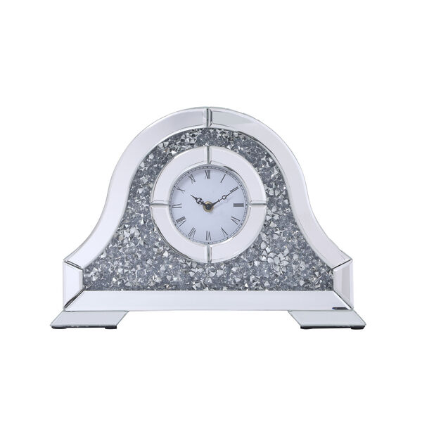 Sparkle Clear 16-Inch Table Top Clock, image 1