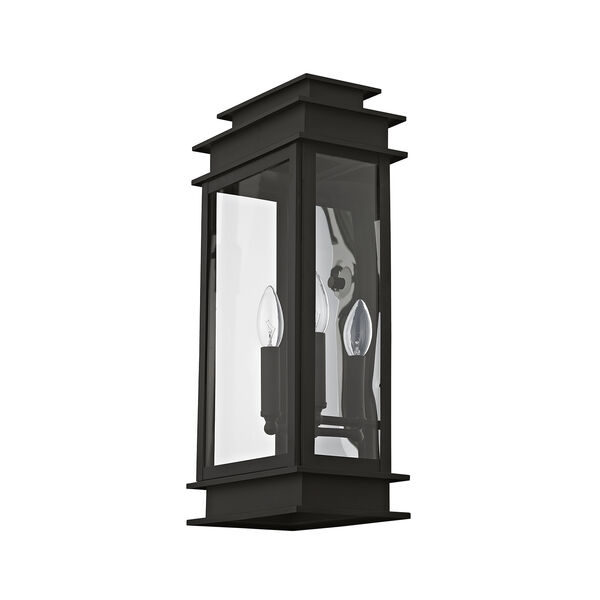 Princeton Black Two-Light 19-Inch Wall Lantern, image 2