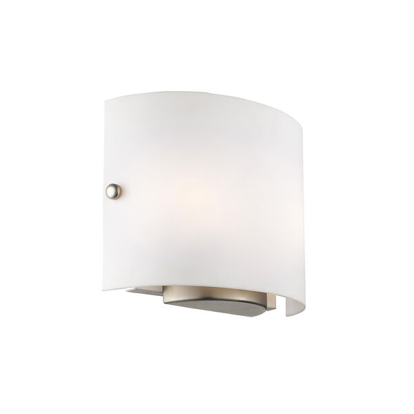 Brushed Nickel Two Light 8.75-Inch Wall Sconce, image 3