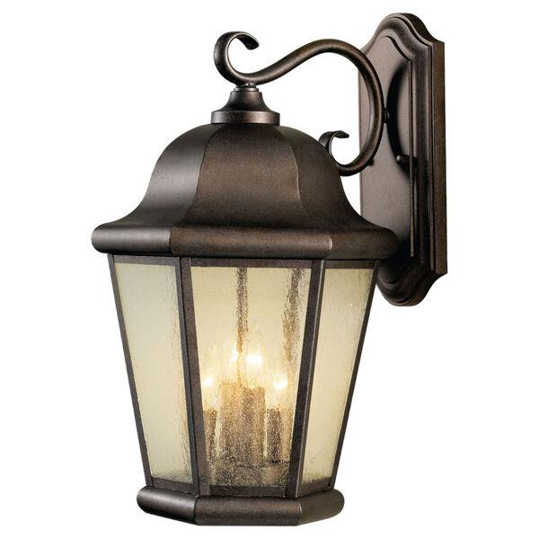 Martinsville Corinthian Bronze Outdoor Four-Light Wall Lantern, image 1