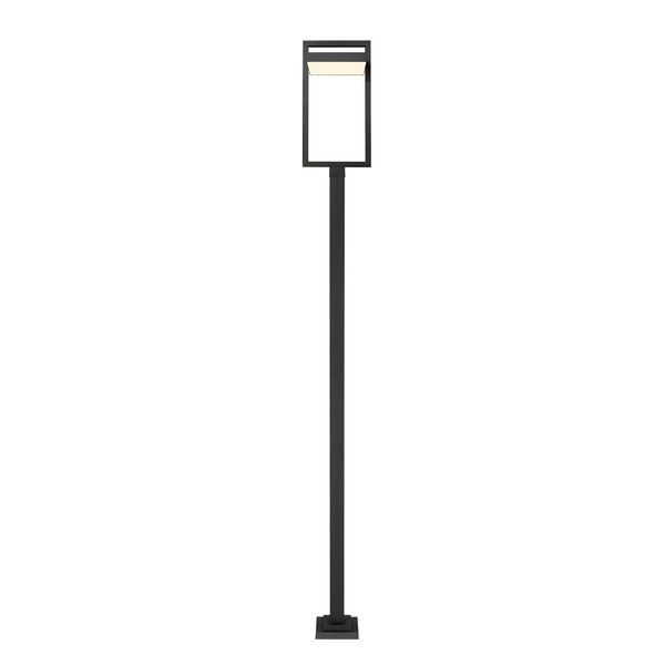 Luttrel Black 123-Inch One-Light LED Outdoor Post Mount, image 4