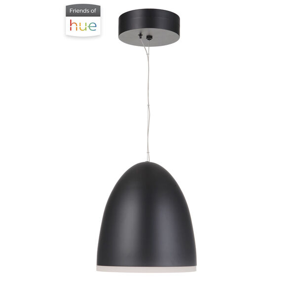 Studio Flat Black LED Pendant, image 2