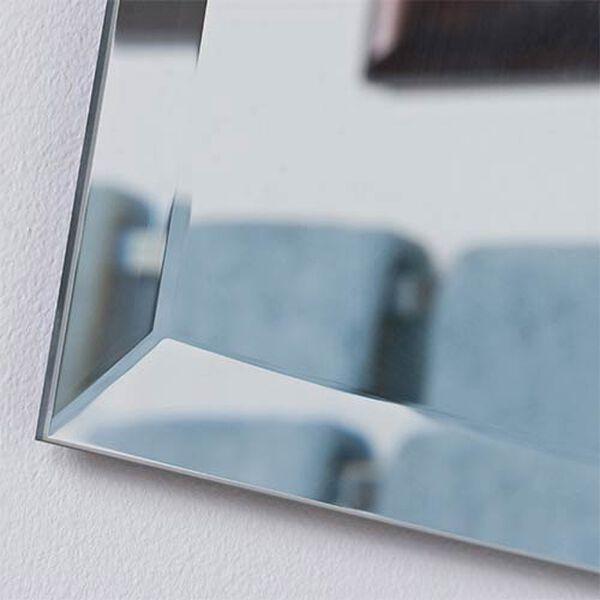 Frameless Square Beveled Mirror, image 2