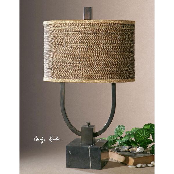 Stabina Rustic Bronze Table Lamp, image 2
