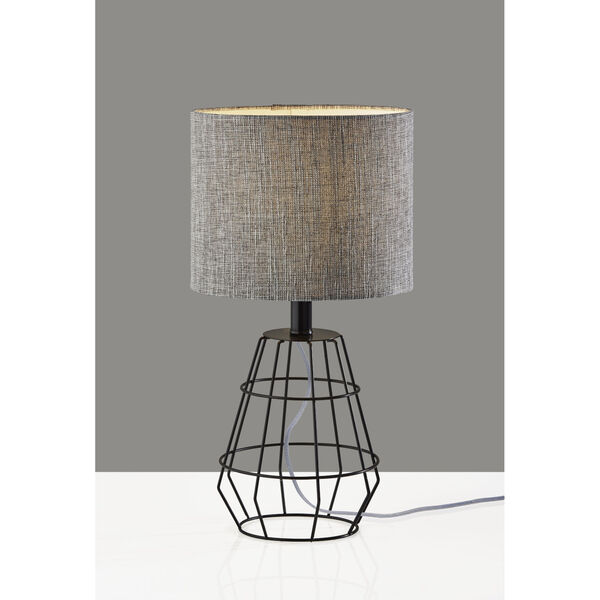 Victor Black One-Light Table Lamp, image 5