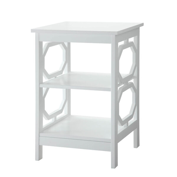 Omega End Table with Shelves, image 3