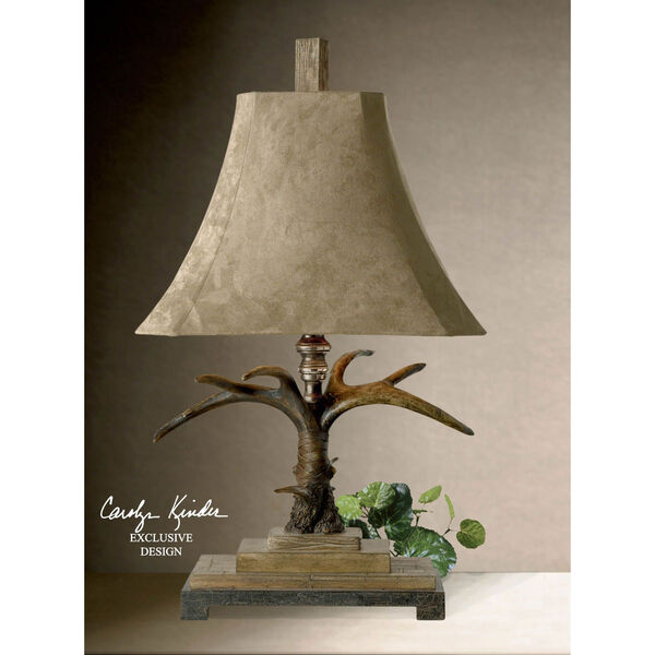 Stag Horn Table Lamp, image 2