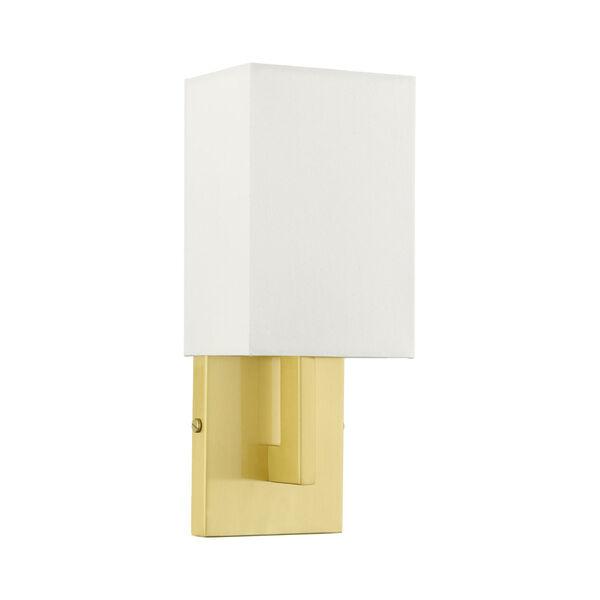 Meridian Satin Brass One-Light ADA Wall Sconce, image 2