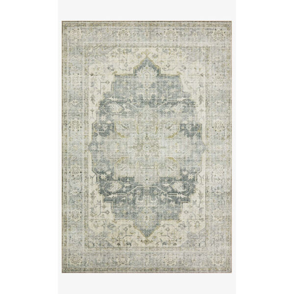 Skye Charcoal and Dove Rectangular: 7 Ft. 6 In. x 9 Ft. 6 In. Area Rug, image 1