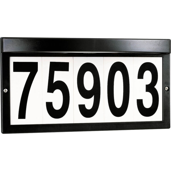 Address Light Black Two-Light Address Light, image 1