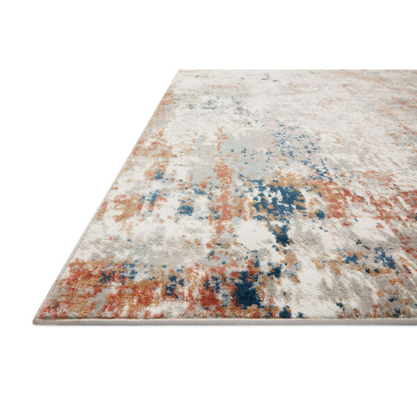 Bianca Ivory, Spice and Blue 9 Ft. 9 In. x 13 Ft. 6 In. Area Rug, image 3