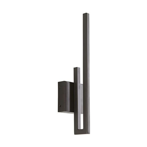 Simba Aged Iron Two-Light LED Outdoor Wall Sconce, image 3