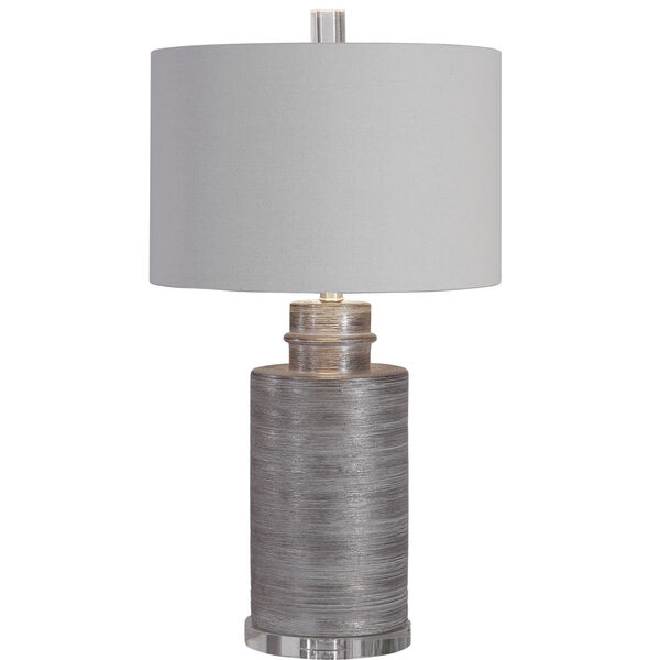 Anitra Metallic Silver 1-Light Table Lamp, image 7