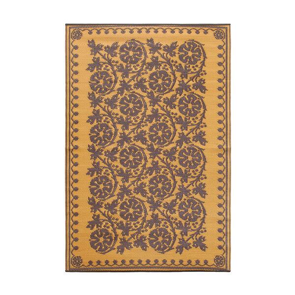 Cinquefoil 4 x 6 Floor Mat Cinnamon, image 1