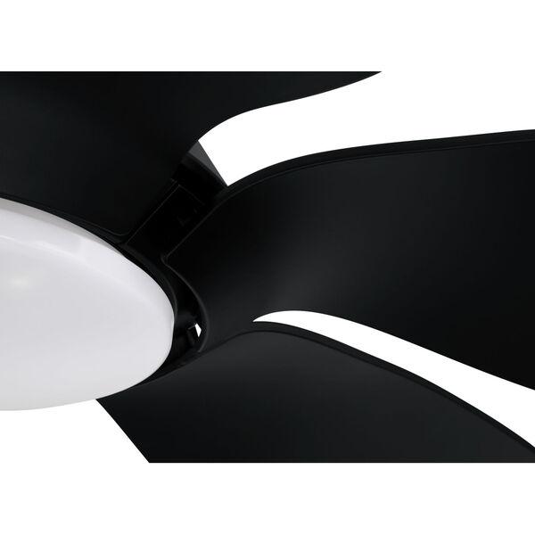 Zoom Flat Black 66-Inch One-Light Ceiling Fan, image 7