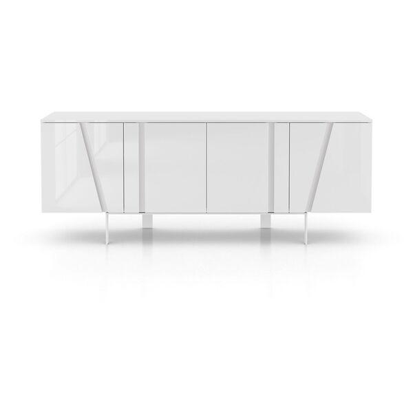 Mott Glossy White Sideboard, image 5