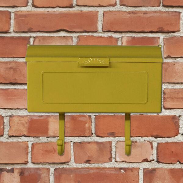 Nash Yellow Horizontal Mailbox, image 3