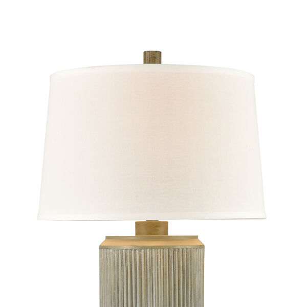 Fabrello Gray Polished Concrete One-Light Table Lamp, image 3