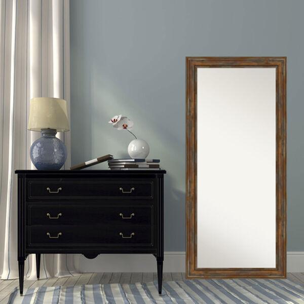 Alexandria Rustic Brown 30-Inch Floor Mirror, image 5