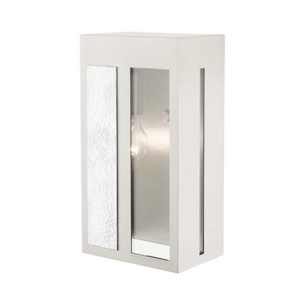 Lafayette Brushed Nickel Six-Inch One-Light Outdoor ADA Wall Sconce, image 6