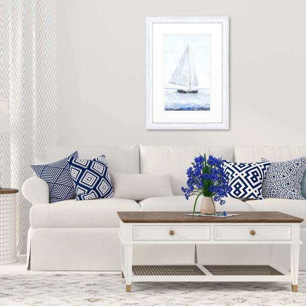 Sailors Delight II Blue Framed Art, image 1