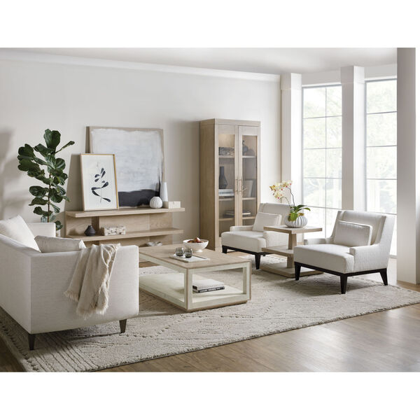 Cascade Taupe Rectangle Cocktail Table, image 3