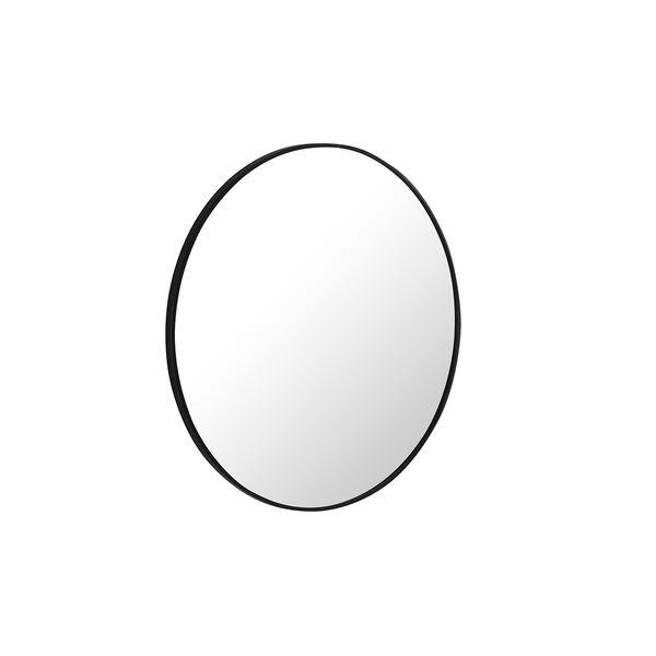 Eternity Black Round 32-Inch Mirror, image 3