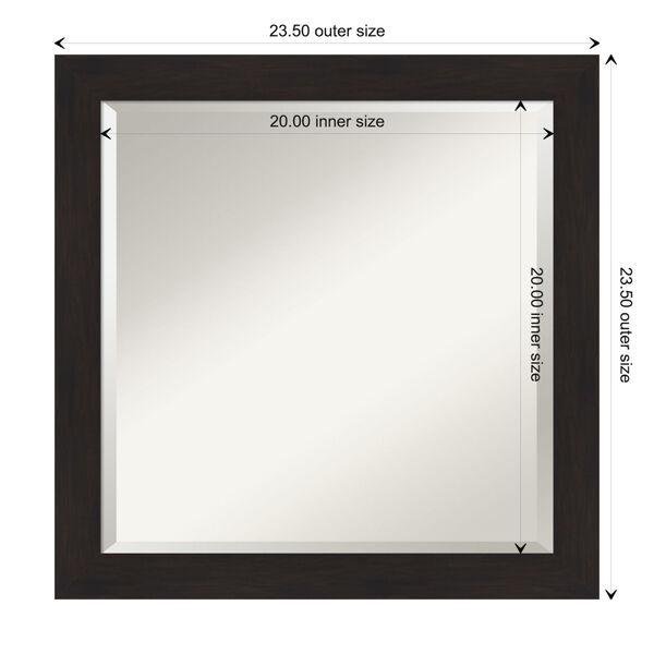 Espresso 24W X 24H-Inch Bathroom Vanity Wall Mirror, image 6