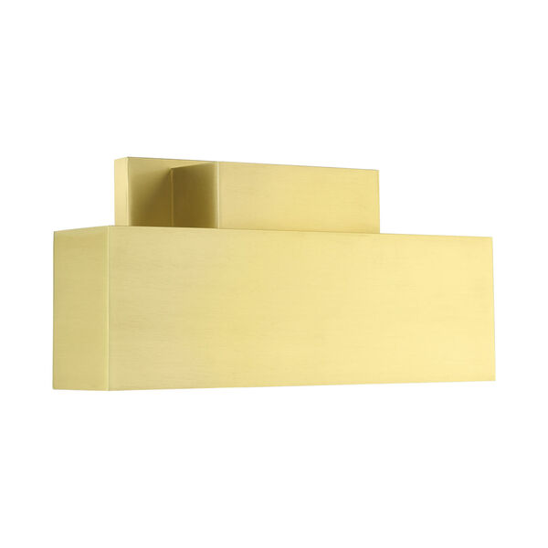 Lynx Satin Brass Two-Light Outdoor ADA Wall Sconce, image 4