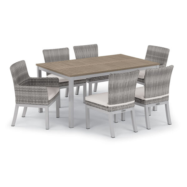 Travira 63-Inch Vintage Tekwood Dining Table, image 3