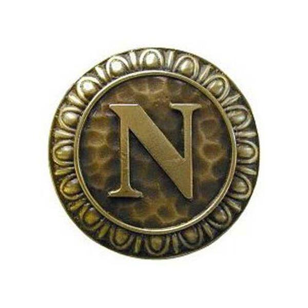 Antique Brass 'N' Knob , image 1