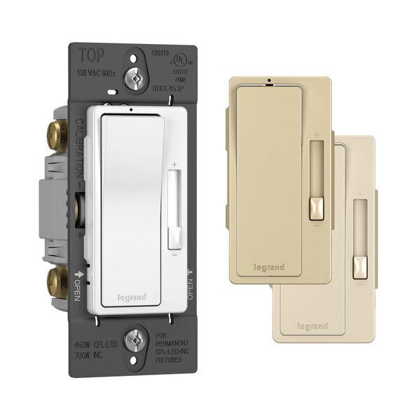 450W White CFL LED Single Pole 3-Way Dimmer, image 3