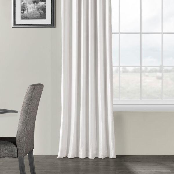 Ice Vintage Textured Faux Dupioni Silk Single Panel Curtain, 50 X 120, image 5