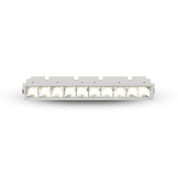 Rubik White 10-Light LED Recessed Downlight, image 2