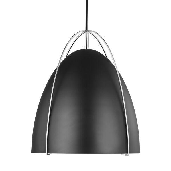 Norman Chrome One-Light Pendant, image 2