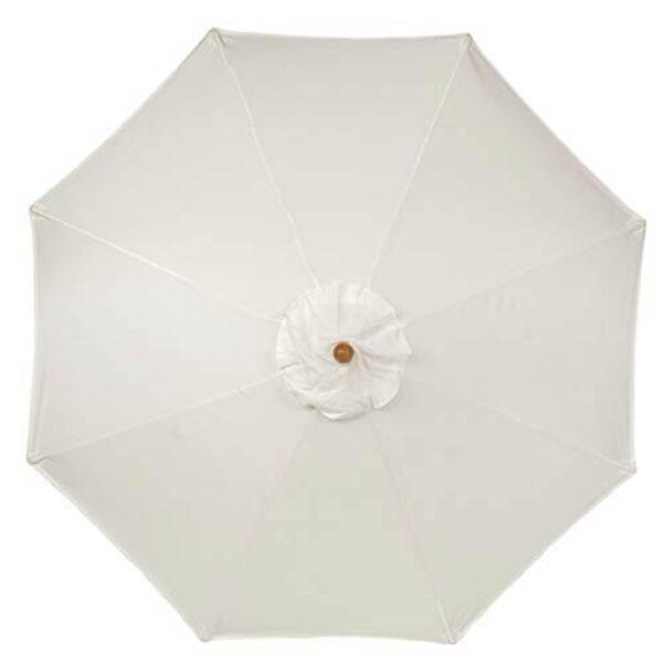 9-Ft. Natural Octagonal Sunbrella Market Umbrella, image 2